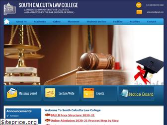 southcalcuttalawcollege.ac.in