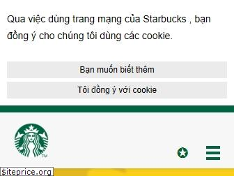 www.starbucks.vn website price