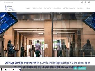 startupeuropepartnership.eu