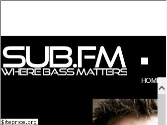 www.sub.fm website price