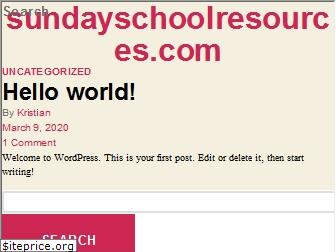 sundayschoolresources.com