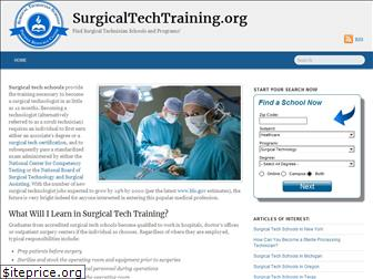 surgicaltechtraining.org