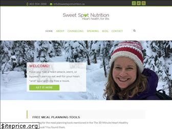 sweetspotnutrition.ca