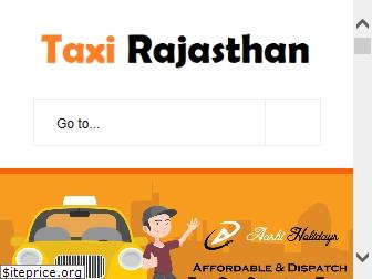 taxirajasthan.in