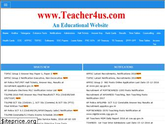 teacher4us.com