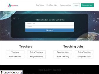 teacheron.com