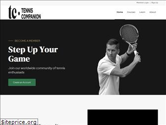 tenniscompanion.org