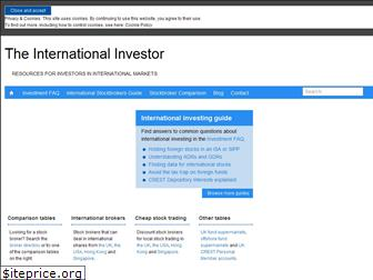 the-international-investor.com