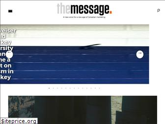 the-message.ca