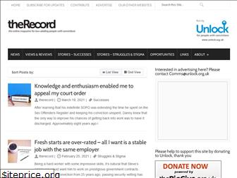 the-record.org.uk