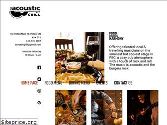theacousticgrill.ca