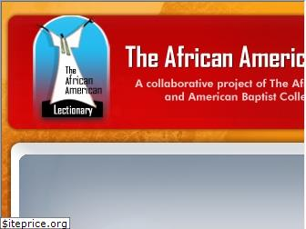 theafricanamericanlectionary.org
