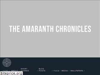 theamaranthchronicles.com