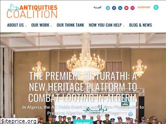 theantiquitiescoalition.org