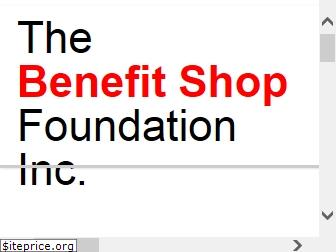 www.thebenefitshop.org website price