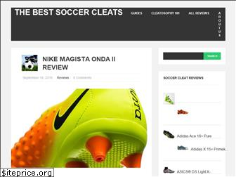 thebestsoccercleats.com