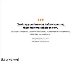 thecenterforpsychology.com