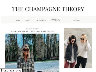 thechampagnetheory.com