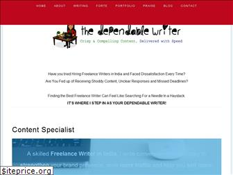 thedependablewriter.com