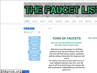 thefaucetlist.weebly.com