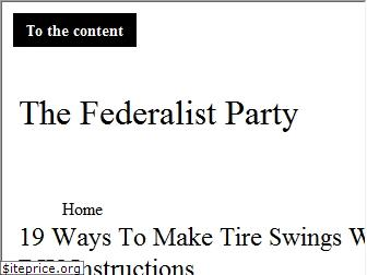 thefederalistparty.org