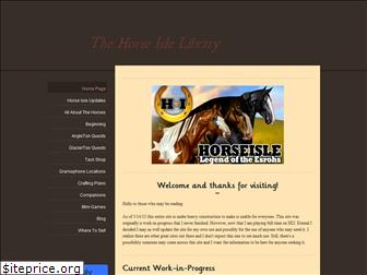 thehorseislelibrary.weebly.com