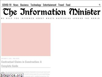 theinformationminister.com
