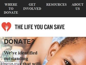 thelifeyoucansave.org