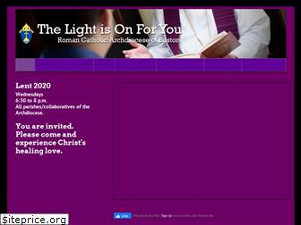 thelightisonforyou.org