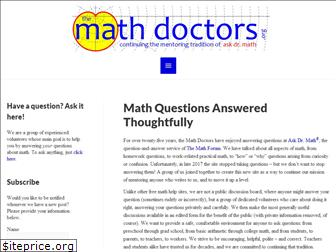 themathdoctors.org