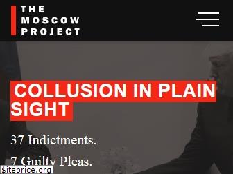 www.themoscowproject.org website price