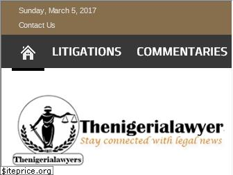 thenigerialawyer.com
