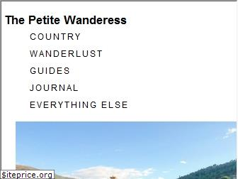 thepetitewanderess.com