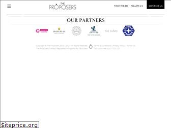 theproposers.co.uk
