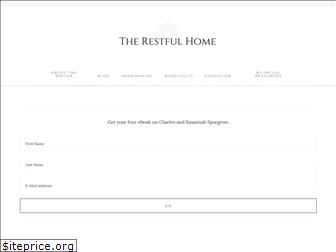 therestfulhome.com