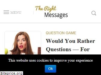 therightmessages.com
