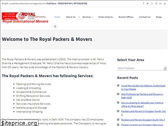 theroyalpackers.in