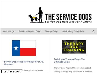 theservicedogs.com