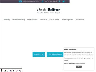 thesis-editor.co.uk