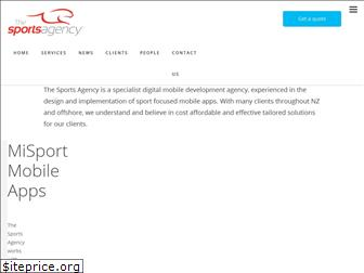 thesportsagency.co.nz