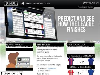 thesportspredictor.com