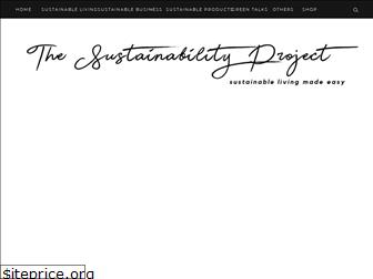 thesustainabilityproject.life