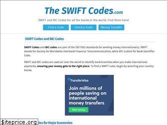 theswiftcodes.com