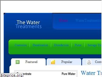 thewatertreatments.com