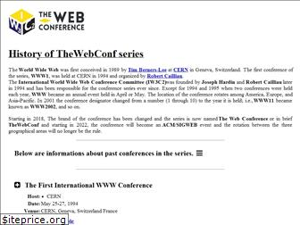 thewebconf.org