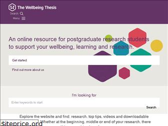 thewellbeingthesis.org.uk
