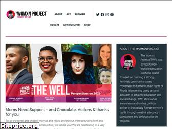 thewomanproject.org