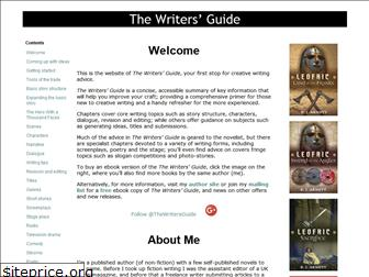 thewritersguide.co.uk