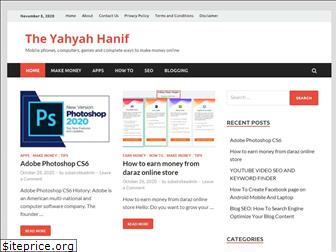 theyahyahanif.com