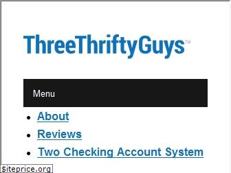 threethriftyguys.com